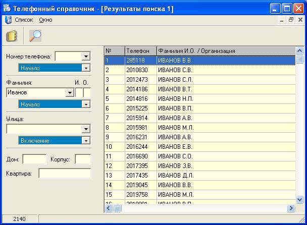 Справочник номеров телефона организаций города москва